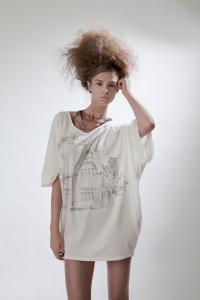 5. camilla norrback ss11 looks. Ines big shirt, organic cotton1